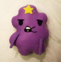 Lumpy Space Princess Plushie by Number1FMAfangirl
