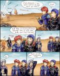 FE7: Pent takes care of 'em by Oviot