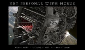 Get Personal with Horus by Nova1701dms