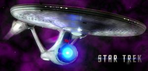 Star Trek - U.S.S. Enterprise by devonjones