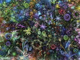 My Luminescent Garden by Kancano