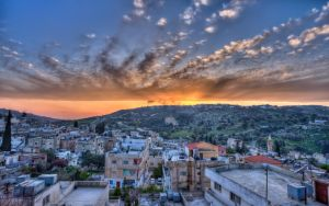 Wadi Essir Sunset HDR by mohagha