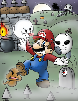 they're out to get you o.o by Nintendrawer