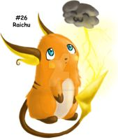 Raichu by GrayWolfShadow