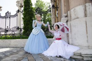 Cinderella and Mary Poppins by NikitaCosplay