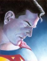 Superman portrait by mistermoster