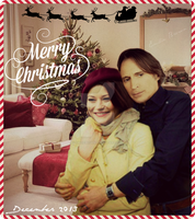 Rumbelle Christmas by EmilieBrown