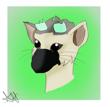 The Last Guardian: Trico Headshot by Nightly-Shade