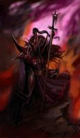 Dark Elf Lord by Letson