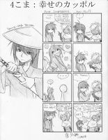 4koma- Happy Couple by ItaLuv