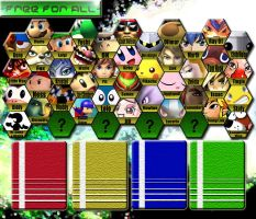 SSBB Character Select v3 by Algus-Underdunk