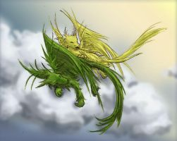 A Nap in the Clouds by whistlebird