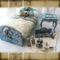 Mini Lunar Fairy Bedroom Set by grimdeva