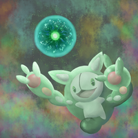 Reuniclus used Energy Ball by QUINCY-OF-THE-MIST
