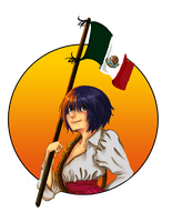 Viva mexico by whitekeej