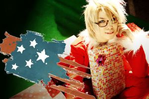 COSPLAY-APH:AMERICA01 by yolkler