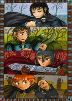 Four Hobbits Of Apocalypse  by Deathlydollies13