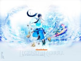 Legend of Korra (Fan art) by Odexra