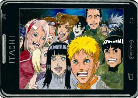 Naruto Famous Oscar Selfie by Why2be