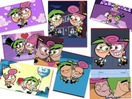 Cosmo X Wanda COLLAGE by CloeAmore12