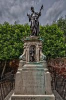 Marlowe statue 1 by forgottenson1