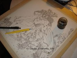 WIP : the Beauty and the Beast by Samy-Consu