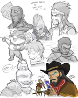 League of Legends Sketch Dump by KittyConQueso