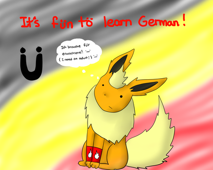 German is fun :3 by FlaranTheFlareon
