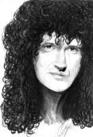 Brian May by qshera