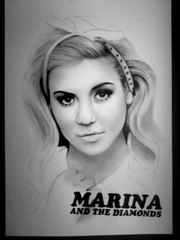 Marina And The Diamonds WIP2 by Kenza-san