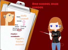 Bro School High School Application by OrangeRamen75