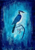 Blue Jay by Wolverica