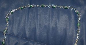 Green wire lace by JupiterGurl