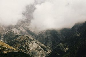 Albanian Mountains by eduinajaupi