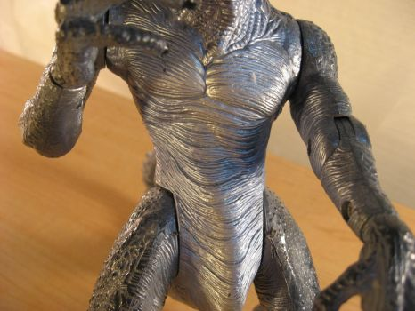 Godzilla 1998 Figure-Chest by draenei-friend