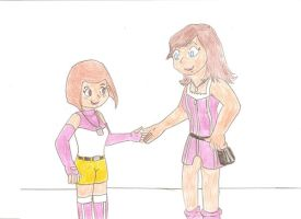 Kari and Kairi by Jose-Ramiro