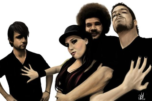 Banda Pitty by andre-assis