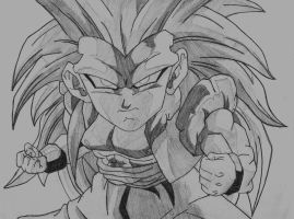SSJ3 Gotenks by YoungTalent93