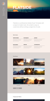 Flatside - MultiPage Muse Template by styleWish