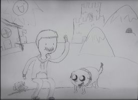 Adventure Time With Brendan and Tippy by BrendanLuik