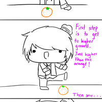 How to peel an Orange with Hertz by XeloRingo