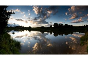 By the Lake - panorama by theFouro