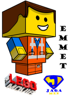 Emmet Cubeecraft 3D-model by JagaMen