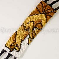 Ninetales 1.5 inch Friendship Bracelet by CarrieBea