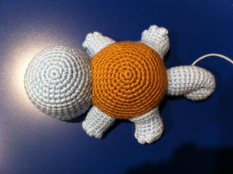 Squirtle WIP by aphid777