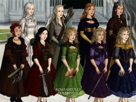 The Fellowship of the Ring: Gender Swapped by lyndsiek2009