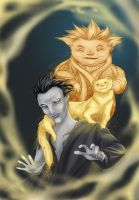 Pitch and Sandman by antitail