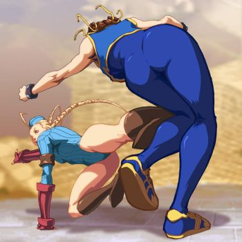 UFS - Cammy Roundhouse by UdonCrew