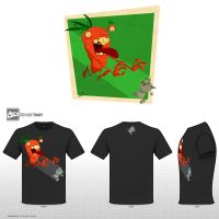 carrot hungry T-Shirts by salvo