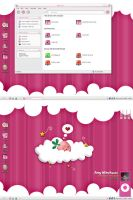 kawaii desktop by devan1er
